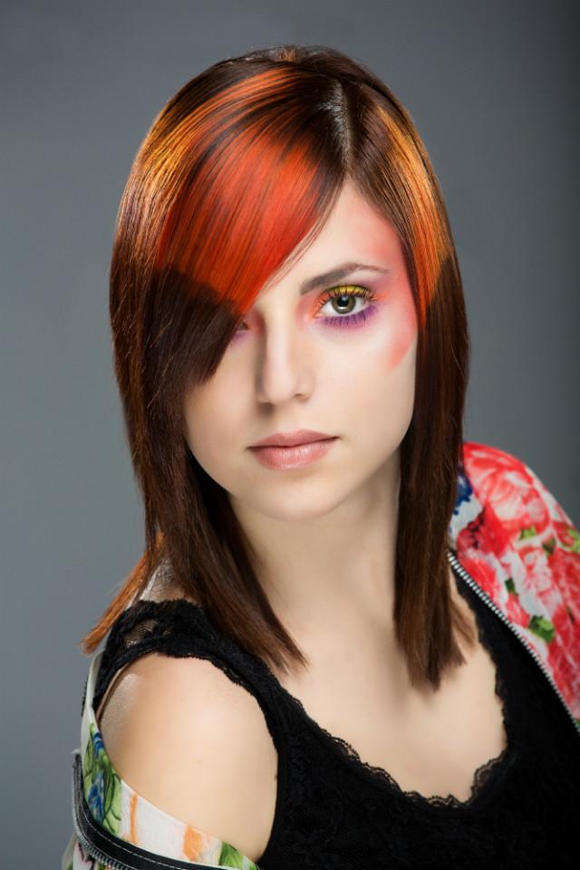 idée de coloration de cheveux