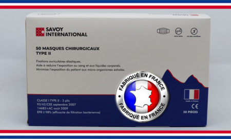 Masque chirurgical Type II Made in France