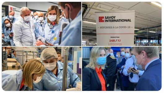 Savoy International fabrique désormais des millions de Masques chirurgicaux par semaine !
